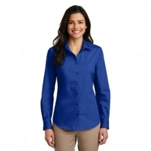 Express Royal Blue Button Down Dress Shirt
